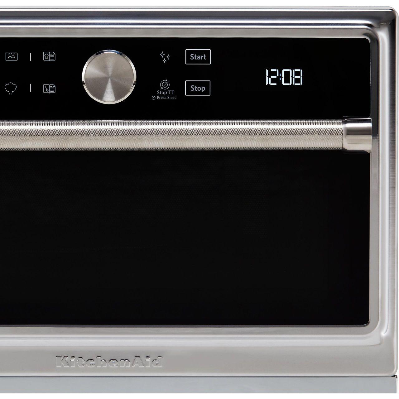 Kmqfx33910 Ss Kitchenaid Freestanding Microwave Ao Com