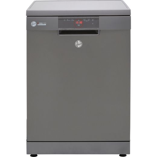 Hoover H-DISH 500 HF6E3DFA Wifi Connected Standard Dishwasher - Graphite - E Rated