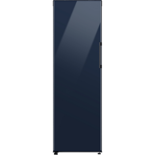 Samsung Bespoke RZ32A74A541 Frost Free Upright Freezer - Glam Navy - F Rated