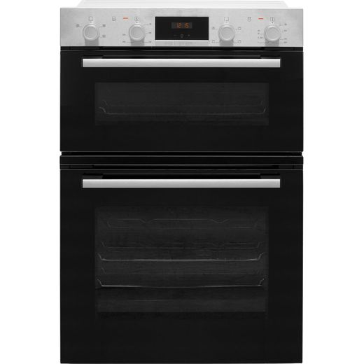 Bosch Serie 2 MHA133BR0B Built In Electric Double Oven - Stainless Steel - A/B Rated