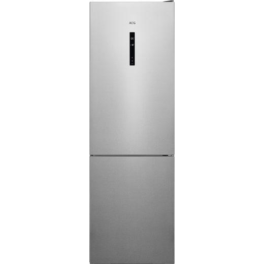 AEG RCB732E5MX Fridge Freezer - Silver
