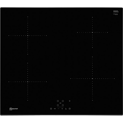 NEFF N30 T36FB41X0G 59cm Induction Hob - Black