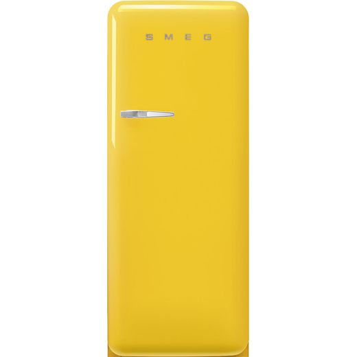 Smeg Right Hand Hinge FAB28RYW5 Fridge - Yellow - D Rated