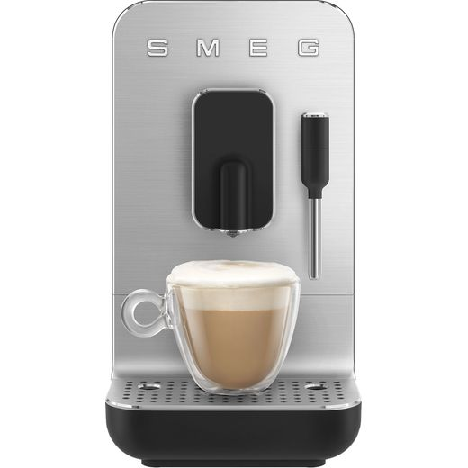 Smeg 50's Retro BCC02BLMUK Espresso Coffee Machine - Black
