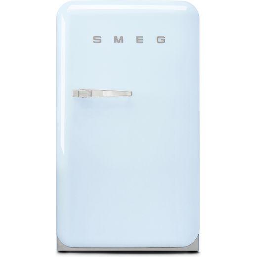 Smeg Right Hand Hinge FAB10RPB5 Fridge with Ice Box - Pastel Blue - E Rated