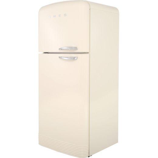 Smeg Left Hand Hinge FAB50LCR 80/20 Frost Free Fridge Freezer - Cream - G Rated