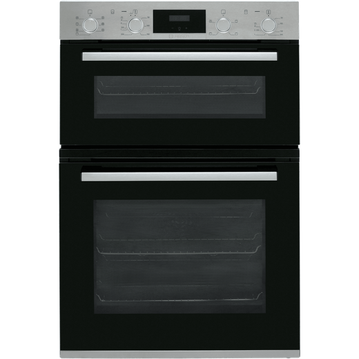 Bosch Serie 4 MBS533BS0B Built In Electric Double Oven - Stainless Steel - A/B Rated