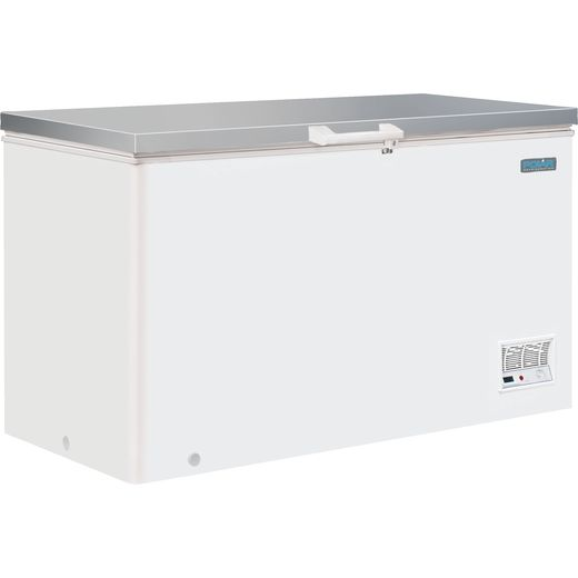 Polar CM530 Chest Freezer - White - B Rated
