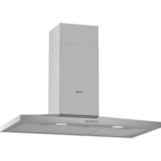 NEFF N30 D92QBC0N0B 90 cm Chimney Cooker Hood - Stainless Steel - D Rated