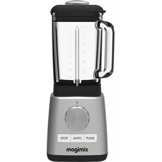 Magimix Power 11630 1.8 Litre Blender with 2 Accessories - Satin Steel