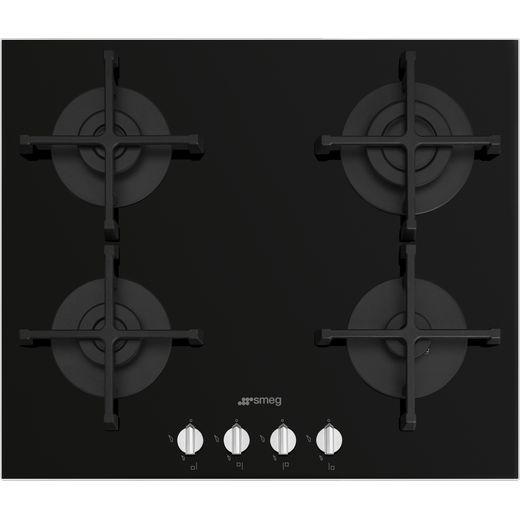 Smeg Piano Design PV264N 60cm Gas Hob - Black