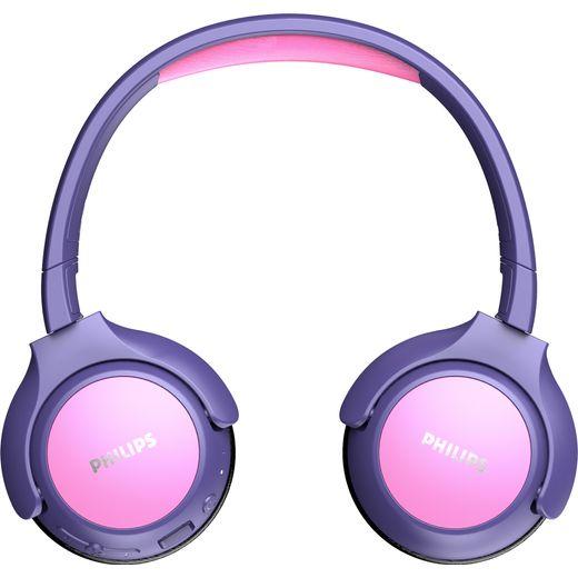 Philips Kids On-Ear Wireless Bluetooth Headphones - Pink