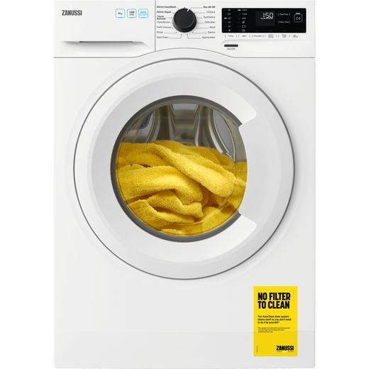 Zanussi ZWF944A2PW 9Kg Washing Machine with 1400 rpm - White - D Rated
