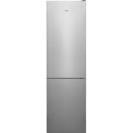 AEG RCB636E4MX 60/40 Frost Free Fridge Freezer - Silver - E Rated