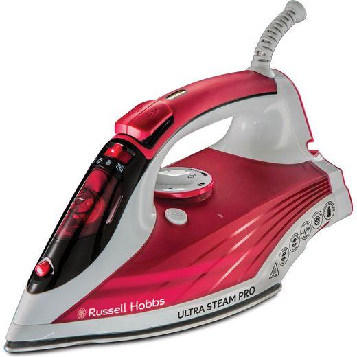 Russell Hobbs Ultra Steam Pro 23990 2600 Watt Iron -Red