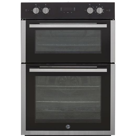 Hoover H-OVEN 300 HO9DC3UB308BI Built In Electric Double Oven - Black / Stainless Steel - A/A Rated