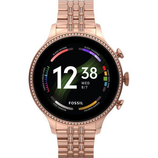 Fossil Gen 6 Smart Watch - Rose Gold