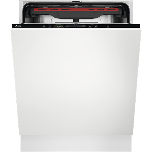 AEG FSS53907Z Fully Integrated Standard Dishwasher - Black Control Panel with Sliding Door Fixing Kit - D Rated