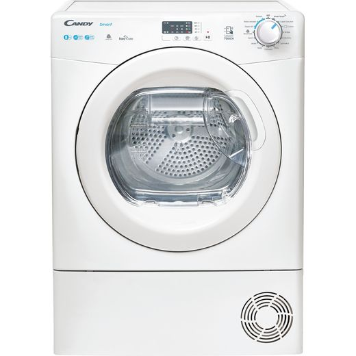 Candy Smart Pro CSEH8A2LE 8Kg Heat Pump Tumble Dryer - White - A++ Rated