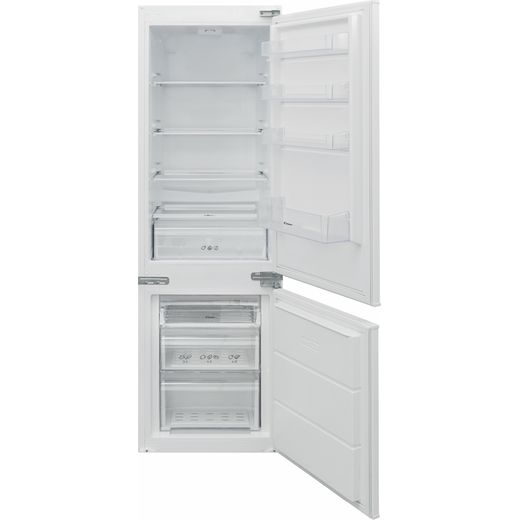 Candy BCBS174TTK/N Integrated 70/30 Fridge Freezer with Sliding Door Fixing Kit - White - E Rated