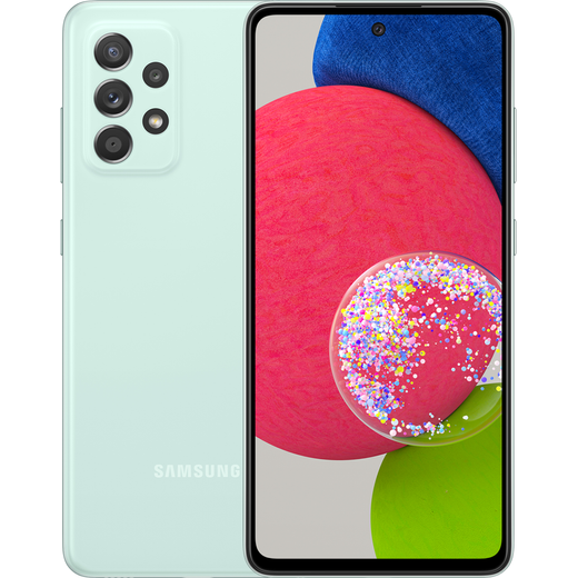 Samsung Galaxy A52s 5G 128GB Smartphone in Mint