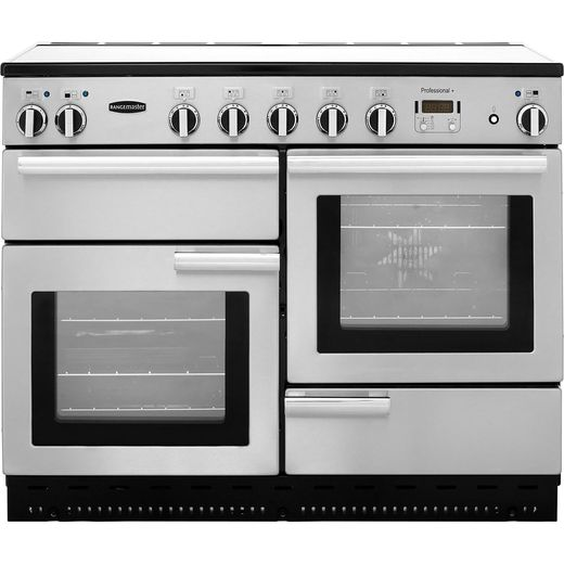 Rangemaster Elise ELS110EISS 110cm Electric Range Cooker with Induction Hob - Stainless Steel - A/A Rated