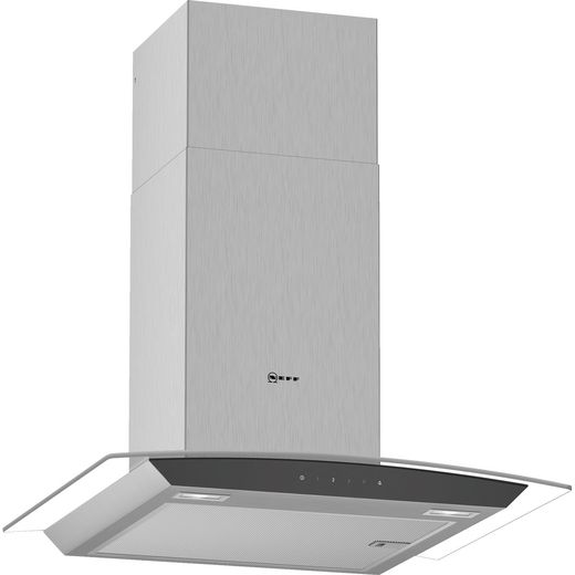 NEFF N50 D64AFM1N0B 60 cm Chimney Cooker Hood - Stainless Steel - B Rated