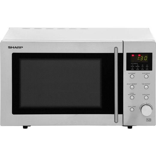 Sharp R28STM Microwave - Stainless Steel