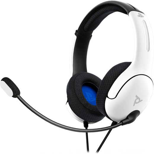 PDP LVL 40 Wired Gaming Headset - White
