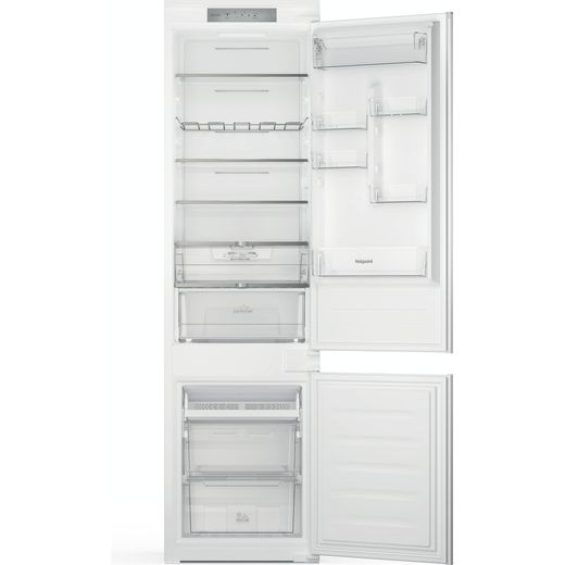 Hotpoint HTC20T321UK Integrated 70/30 Frost Free Fridge Freezer with Sliding Door Fixing Kit - White - F Rated