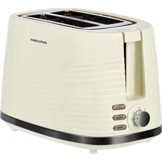 Morphy Richards Dune 220027 2 Slice Toaster - Cream