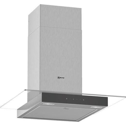 NEFF N50 D64GFM1N0B 60 cm Chimney Cooker Hood - Stainless Steel - B Rated