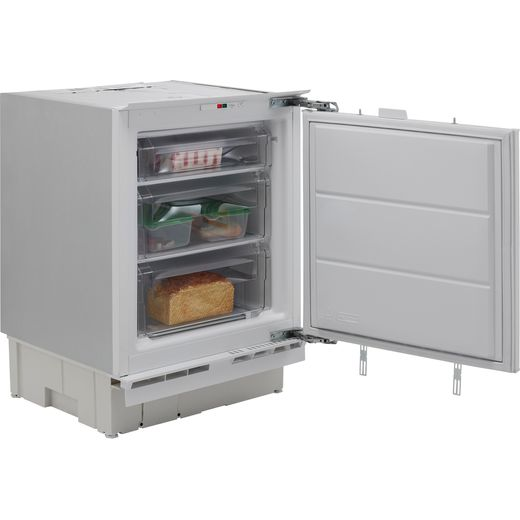Hotpoint HZA1.UK1 Integrated Under Counter Freezer with Fixed Door Fixing Kit - F Rated
