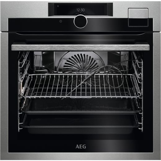 AEG BSE998330M Built In Electric Single Oven - Stainless Steel - A++ Rated