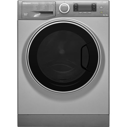 Hotpoint RD966JGDUKN 9Kg / 6Kg Washer Dryer with 1600 rpm - Graphite - E Rated