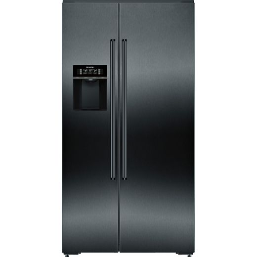 Siemens IQ-700 KA92DHXFP Wifi Connected American Fridge Freezer - Black - F Rated