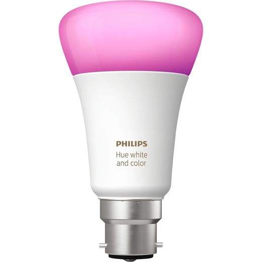 Philips Hue White and Colour Ambiance B22 Single Lamp - A+ Rated