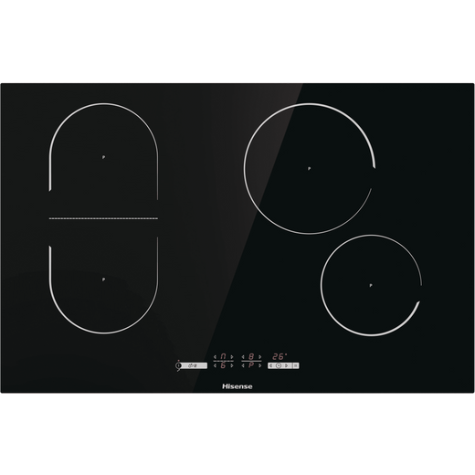 Hisense I8433C 80cm Induction Hob - Black
