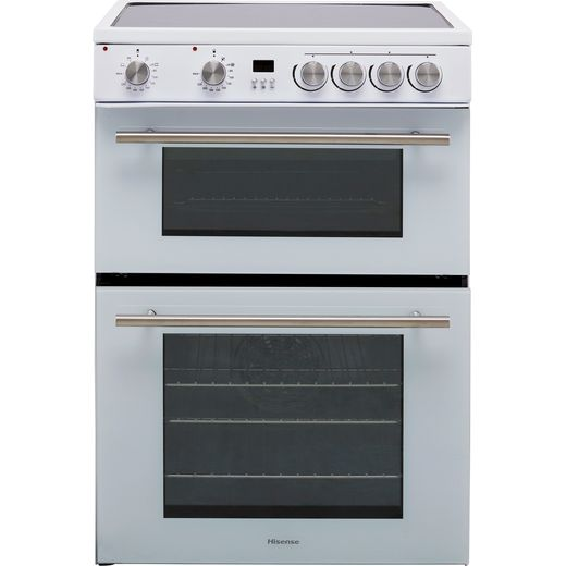 Hisense HDE3211BWUK Electric Cooker - White - Needs 9.9KW Electrical Connection