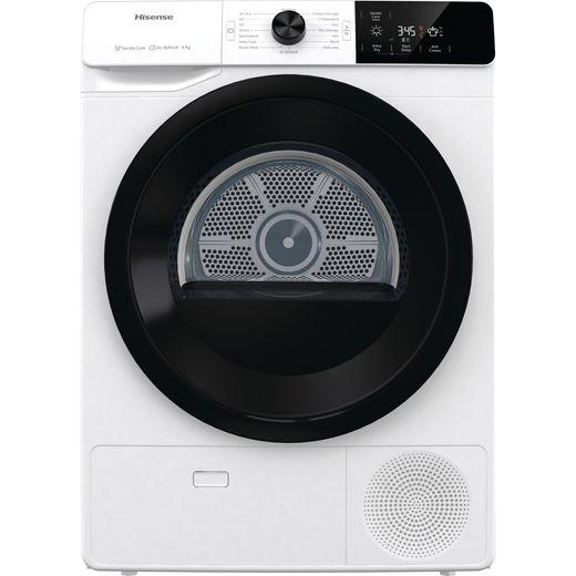 Hisense DCGE802 8Kg Condenser Tumble Dryer - White - B Rated