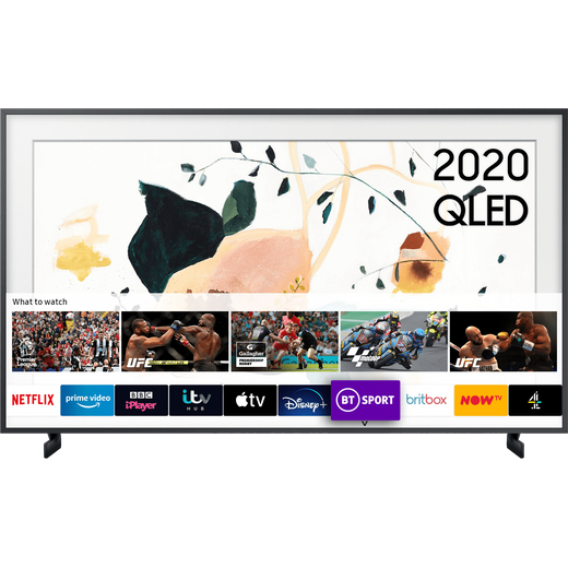 """Samsung QLED QE75LS03TA 75"""" Smart 4K Ultra HD TV With 100% Colour Volume and Apple TV App"""