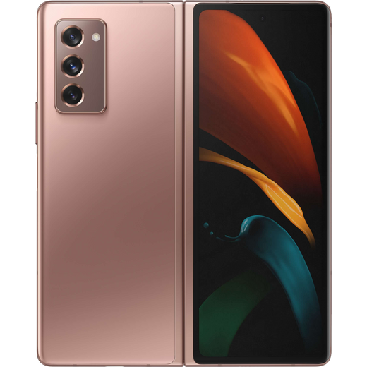 Samsung Galaxy Z Fold2 5G 256GB Smartphone in Mystic Bronze