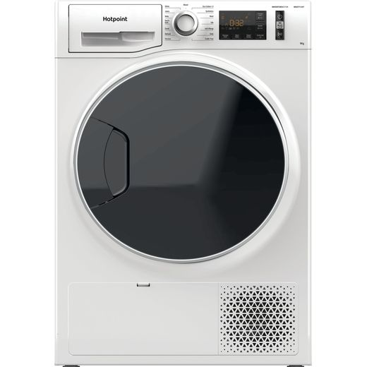 Hotpoint ActiveCare NTM119X3EUK 9Kg Heat Pump Tumble Dryer - White - A+++ Rated