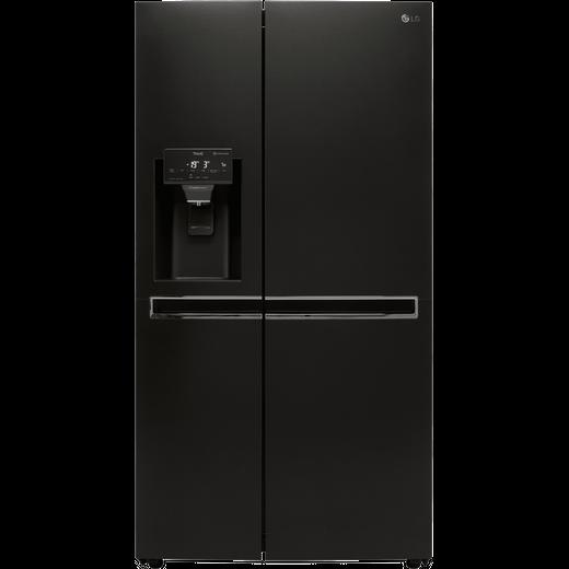 LG GSL760MCKV Wifi Connected American Fridge Freezer - Matte Black - F Rated