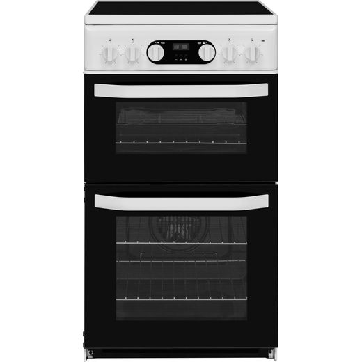 Hotpoint HD5V93CCW/UK Electric Cooker with Ceramic Hob - White - A/B Rated
