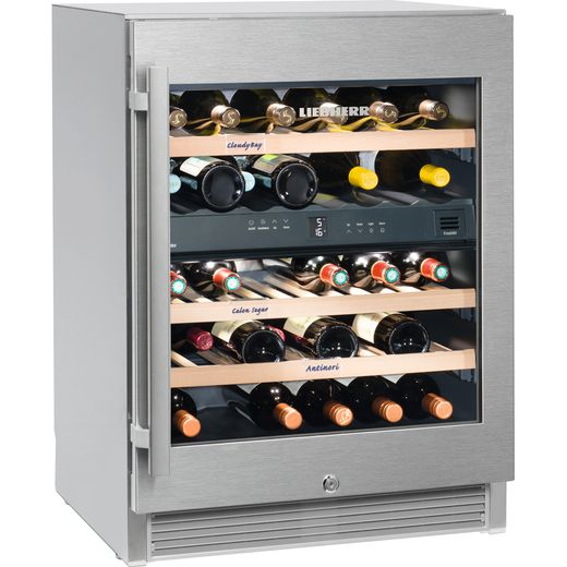 Liebherr WTes1672 Wine Cooler - Stainless Steel - G Rated