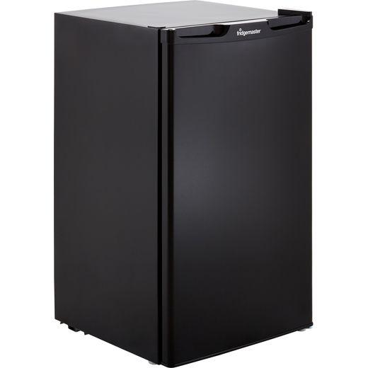 Fridgemaster MUZ4965MB Under Counter Freezer - Black - F Rated