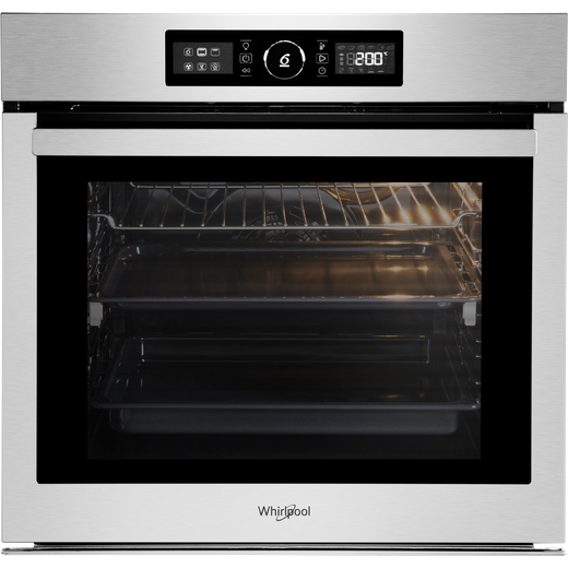 Whirlpool Absolute AKZ96270IX Built In Electric Single Oven - Stainless Steel - A+ Rated