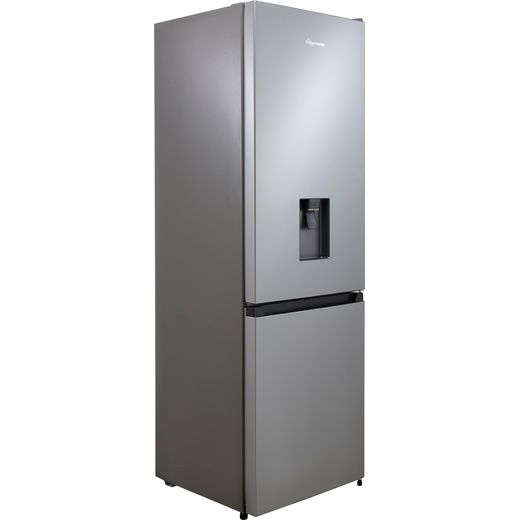 Fridgemaster MC60287DS Fridge Freezer - Silver