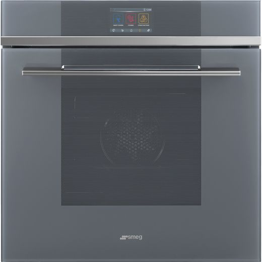 Smeg Linea SFP6104SPS Built In Electric Single Oven with added Steam Function - Silver - A+ Rated